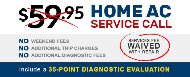 Home AC service call