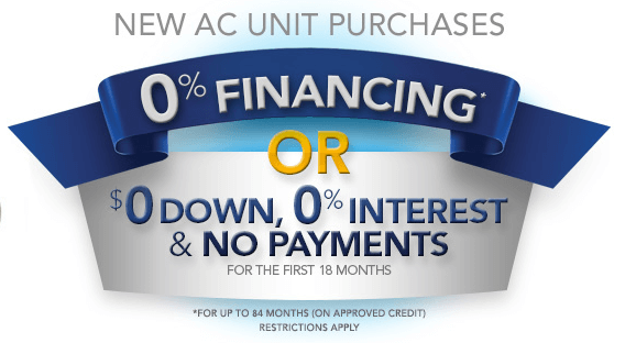 financing for an ac unit phoenix