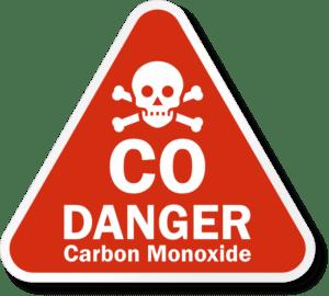 Precision   CO danger logo