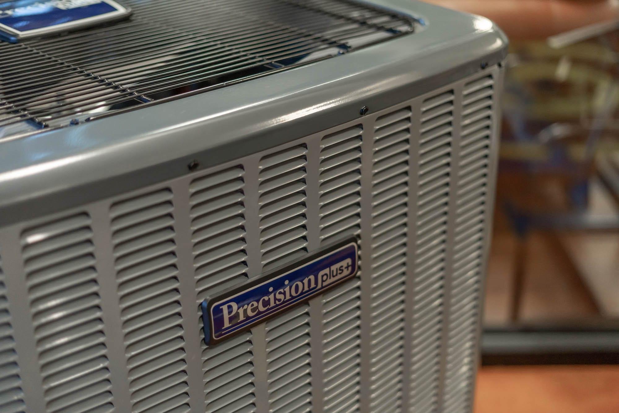 Precision | ac unit with Precision logo