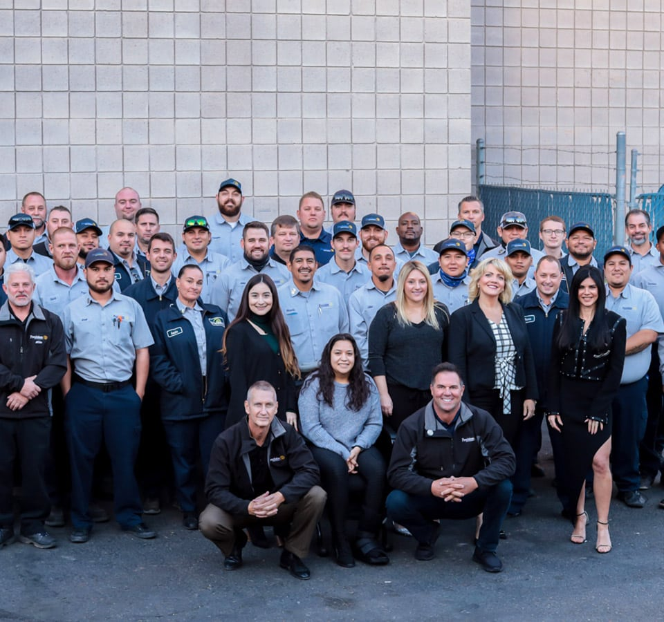 Precision Air & Plumbing | Big group of employees