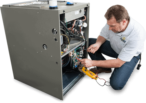 Precision Tech repairing Heater